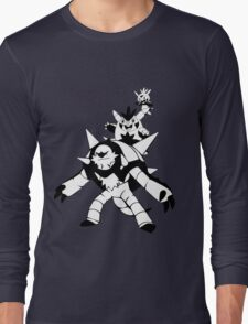 Chespin Evolution Line Long Sleeve T-Shirt