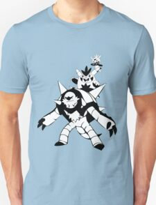 Chespin Evolution Line Unisex T-Shirt