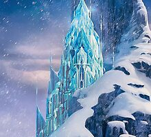Frozen Elsa Castle by N1K0VE