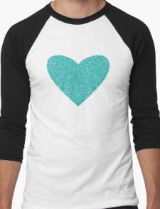 Aqua Love Men's Baseball ¾ T-Shirt