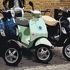 Brick lane scooters by Bob Hickman
