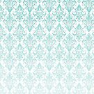 Light Blue Vintage Pattern by KarterRhys