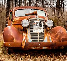 A 1936 Nash LaFayette at Rest in Tennessee by Robert Kelch, M.D.