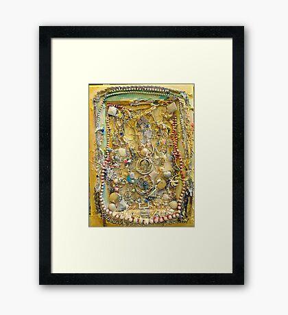 Natural Bright Light Treasury Framed Print