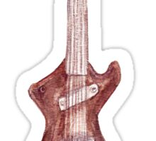 Guitar 3 Sticker