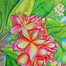 Frangipani Garden by joeyartist