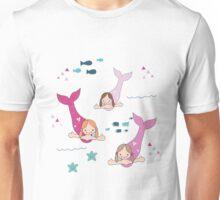 Three Mermaids Unisex T-Shirt