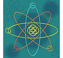 Celtic Line Atomic Structure Photographic Print