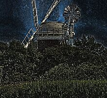 Horsey windmill by Avril Harris