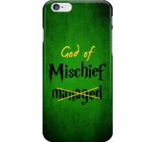 God of Mischief iPhone Case/Skin