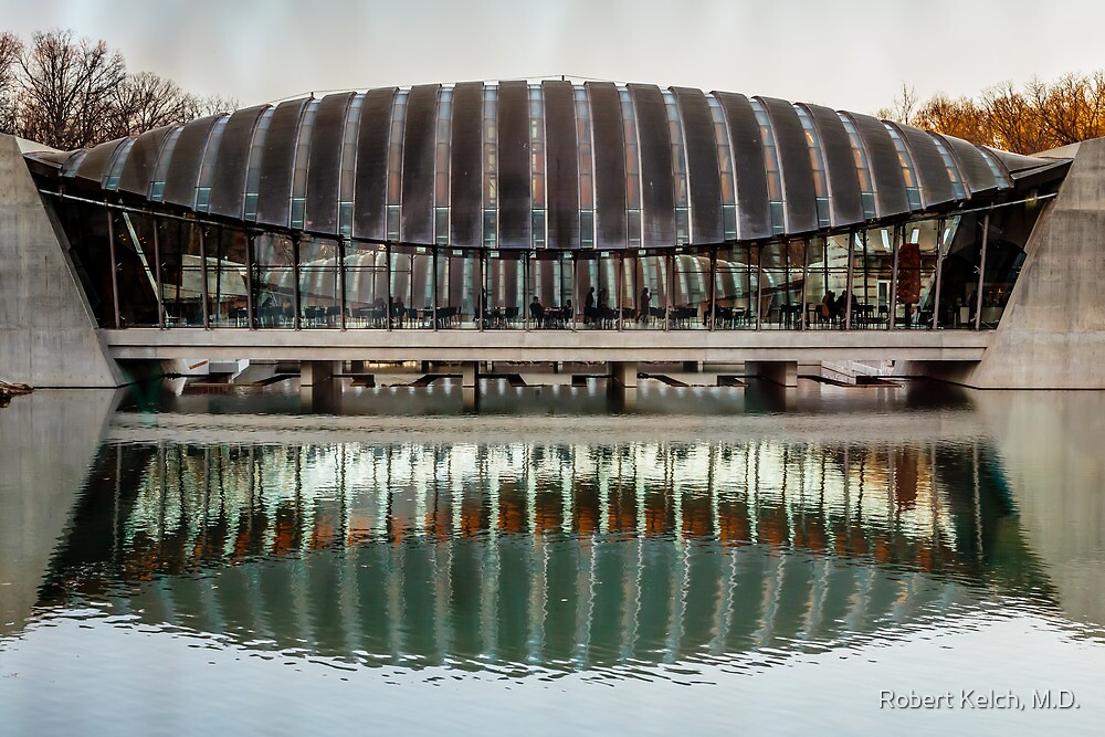 Reflections at Crystal Bridges by Robert Kelch, M.D.