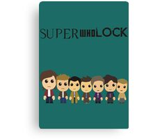 SupercuteWhoLock Canvas Print