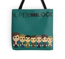 SupercuteWhoLock Tote Bag