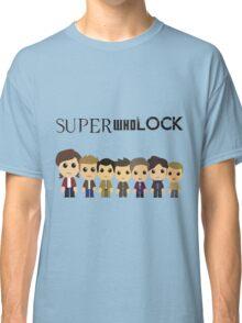 SupercuteWhoLock Classic T-Shirt