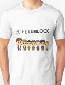 SupercuteWhoLock Unisex T-Shirt