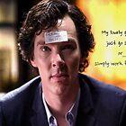 Go study, goldfish-Sherlock Holmes by kinderberry
