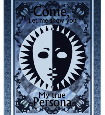 Show your Persona Sticker