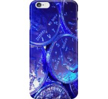 Blue Coins are Calling iPhone Case/Skin