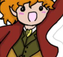 Excited Bilbo Sticker