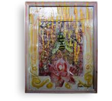 Rose Honey Canvas Print
