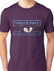 Penguin Sledding Team Unisex T-Shirt