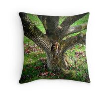 Elf Tree Throw Pillow
