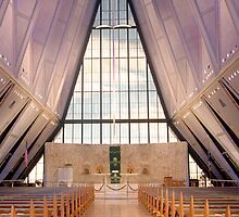 Air Force Academy Cadet Chapel (Interior  3) by WestbrookArts