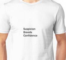 Suspicion Breeds Confidence, Brazil T-Shirt