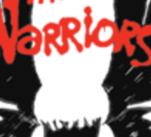 THE WARRIORS gang symbol Sticker