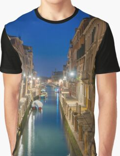 Canal in Venice Graphic T-Shirt