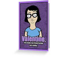 Tina Valentine Greeting Card