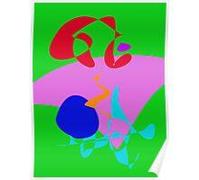 Spilled Juice Poster