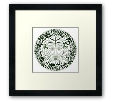 Greenman - Father Of The Forest Framed Print