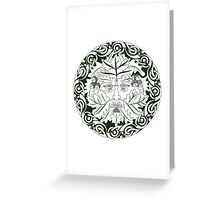 Greenman - Father Of The Forest Greeting Card