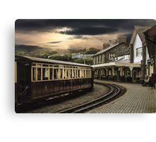 Ffestiniog Railway Station Canvas Print