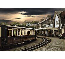 Ffestiniog Railway Station Photographic Print
