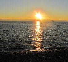 Sunset Siteline by Michelle Brandt
