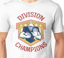 American Football Division Champions Shield Unisex T-Shirt