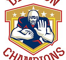 American Football Division Champions Shield by patrimonio