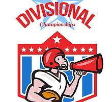 American Football Quarterback Divisional Champions by patrimonio