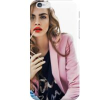 Cara Delevingne iPhone Case/Skin