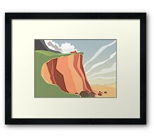 fairy landscape Framed Print