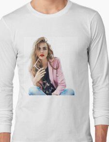 Cara Delevingne Long Sleeve T-Shirt
