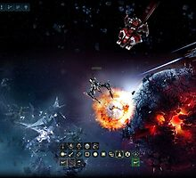 Revel as a space pilot in a fun action game by bigpoint