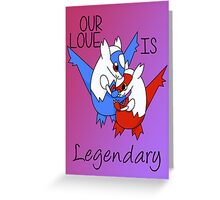 Pokemon Latios & Latias Valentine's Greeting Card