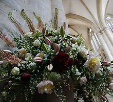 Uplifting Bouquet of Spring Flowers by Georgia Mizuleva