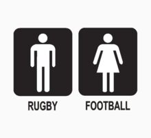 RUGBY V FOOTBALL Kids Clothes