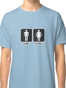 RUGBY V FOOTBALL Classic T-Shirt