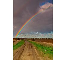 """The Rainbow and The Roadway"" Photographic Print"