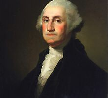 Rembrandt Peale - George Washington by TilenHrovatic